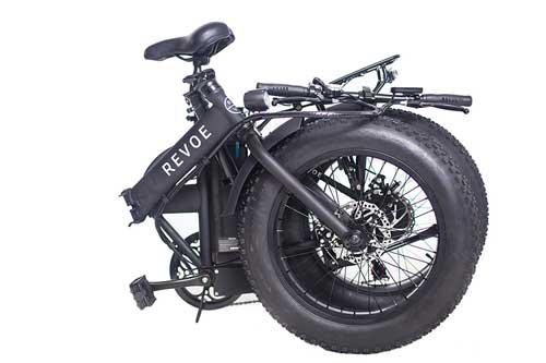 revoe dirt vtc bici elettrica pieghevole