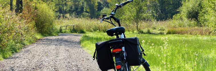 bici elettriche a pedalata assistita attrezzate per cicloturismo