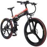 merryhe bicicletta pieghevole elettrica