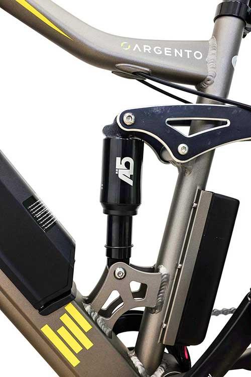 sospensioni posteriori e bike argento performance pro
