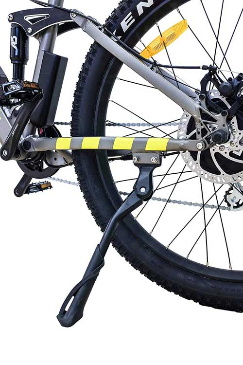 cavalletto laterare mtb elettrica argento performance pro