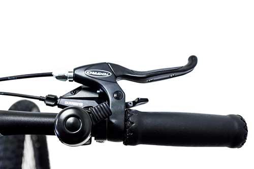 leve freno ergonomiche sulla nuova e bike argento performance pro
