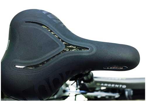 sella ergonomica per la nuova e-bike argento performance pro
