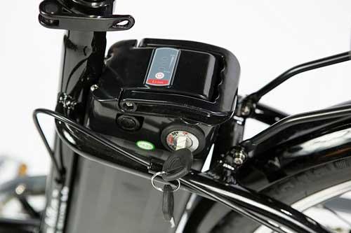 recensione moma bikes con batteria a litio removibile