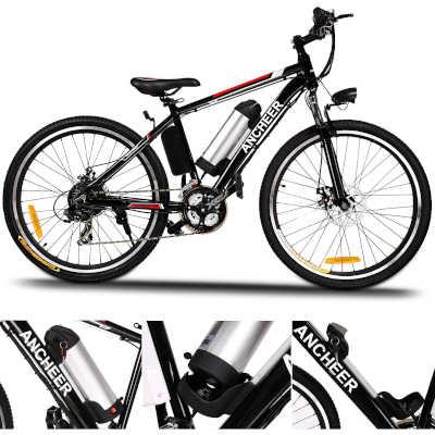 bici elettrica ancheer batteria rimovibile