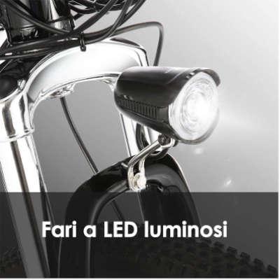 luce bici elettrica ancheer