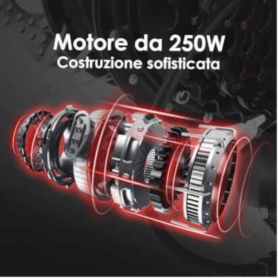 motore bici elettrica ancheer