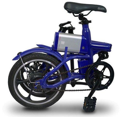 bici elettrica a pedalata assistita pieghevole fiat f16