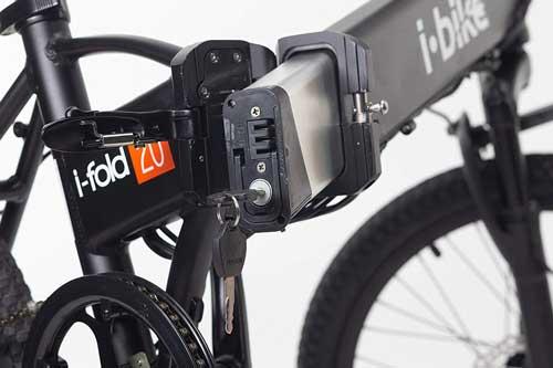 i-bike i-fold 20 batteria estraibile