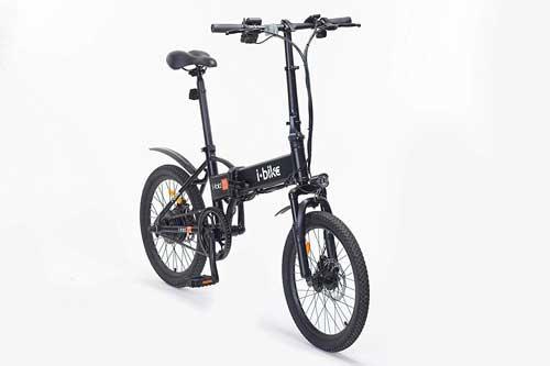 bici elettrica i-bike i-fold recensione
