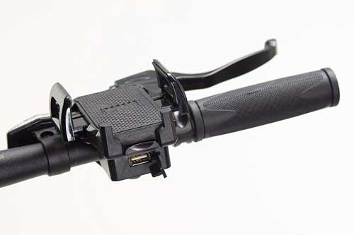 supporto smartphone per bici elettrica e porta usb