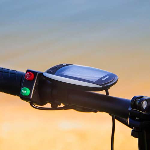 rich bit bici elettrica con computer di bordo