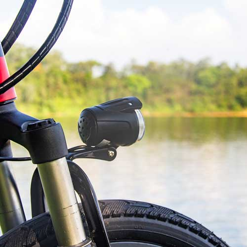rich bit bici elettrica luci a led