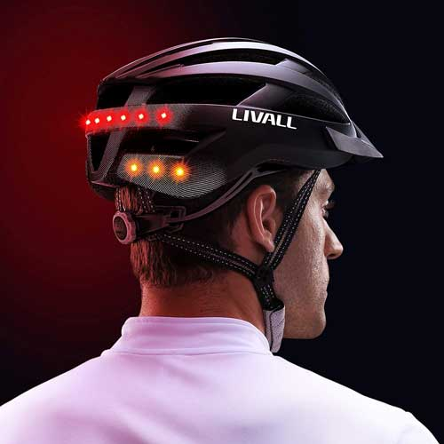 casco Livall Mt1 con luci a led