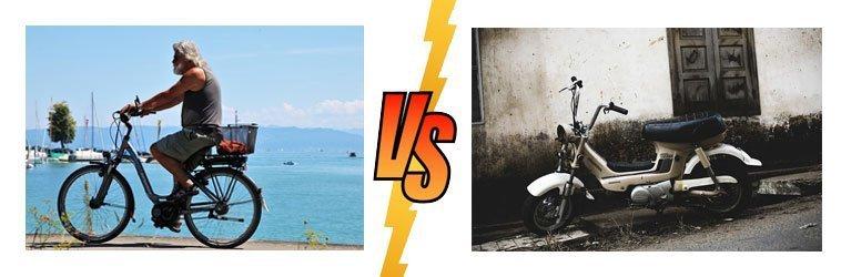 differenza tra bici elettrica e ciclomotore