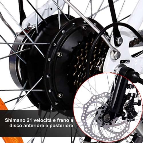 freni a disco ebike speedrid 20