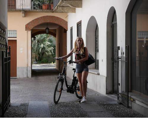funzione walk per la nuova ebike city easy di i-bike