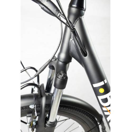 I bike city easy con cavi integrati nel telaio