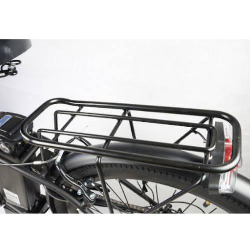 bici elettrica i-bike city easy portapacchi
