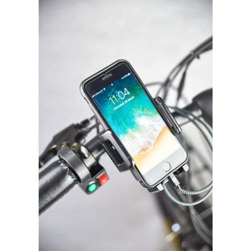 i-bike city easy con supporto per smartphone