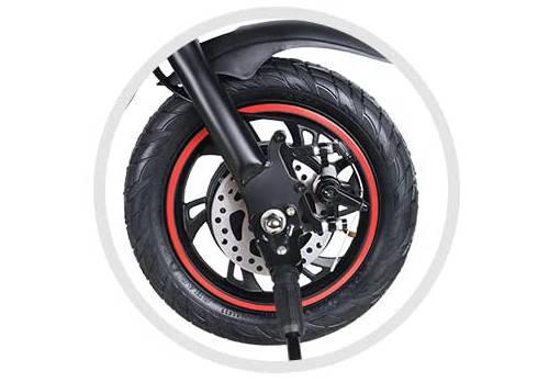 bici elettrica windgoo b3 con freni a disco