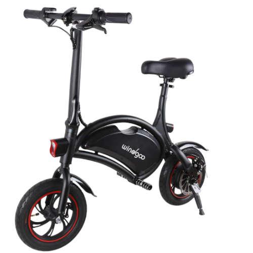 windgoo bicicletta elettrica senza pedali recensione