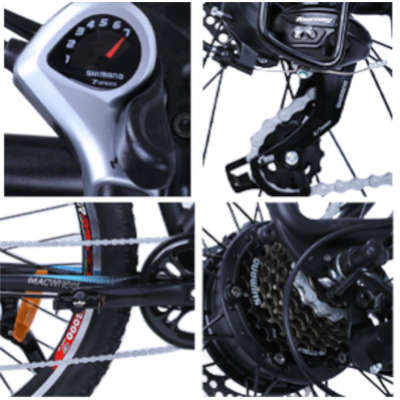 dettagli ebike macwheel ranger 500