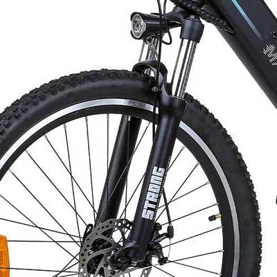 forcella bici elettrica wrangler 600 macwheel