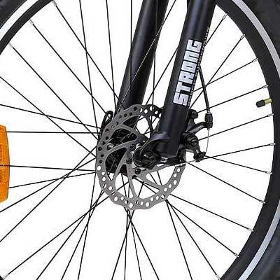freni a disco bici elettrica ranger 500 macwheel