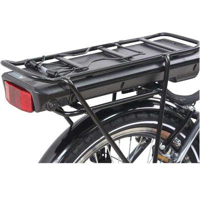 batteria rimovibile bici elettrica pieghevole e-star schiano