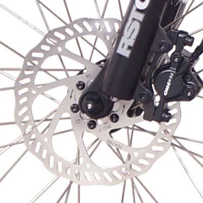 freni a disco ncm paris bici elettrica
