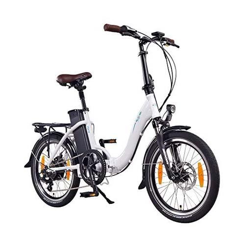 ncm paris bici elettrica pieghevole