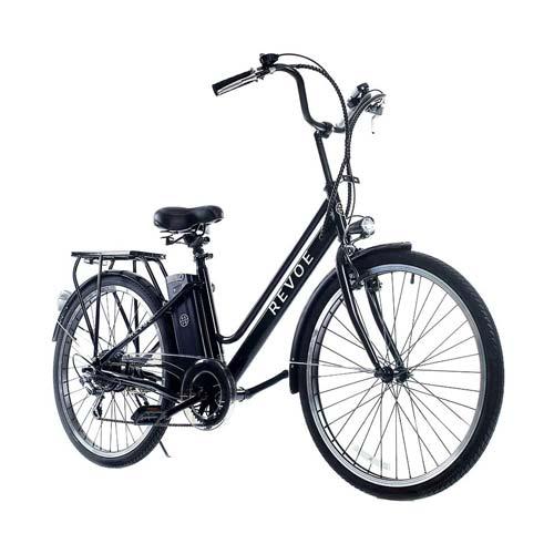 revoe city e-bike bici elettrica da città da donna