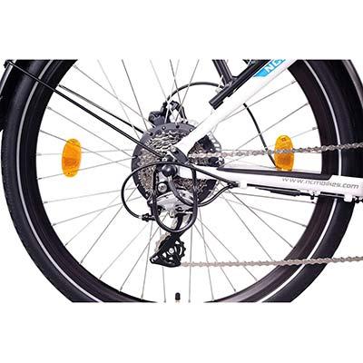 cambio shimano bici elettrica ncm milano plus