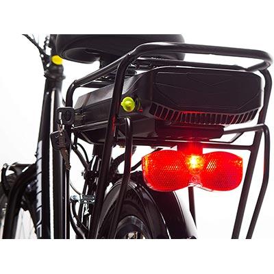 batteria rimovibile e-bike momo design venezia