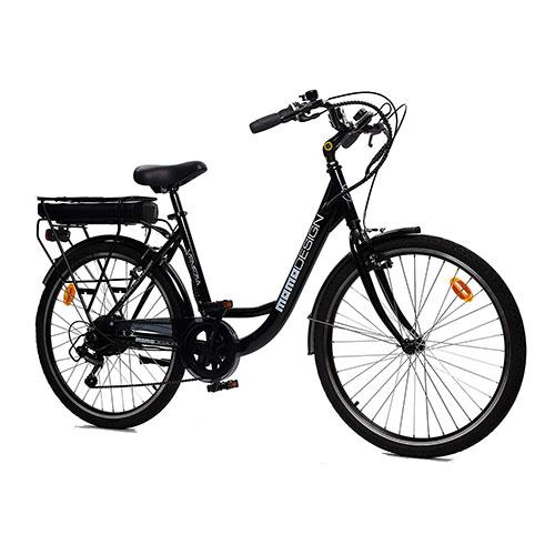 recensione bici elettrica momo design venezia