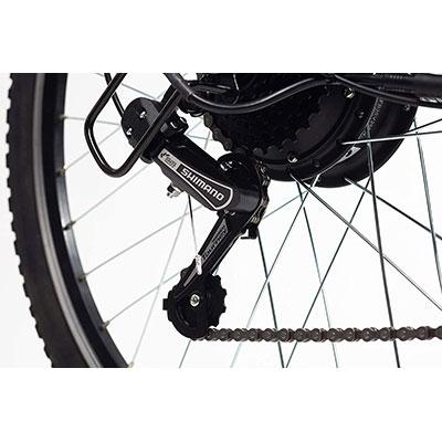 cambio shimano bici elettrica momo design venezia