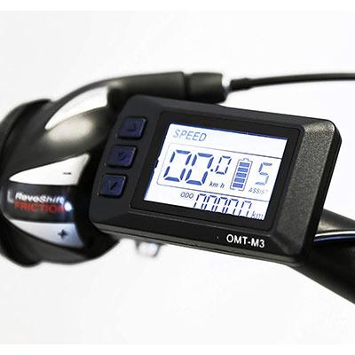 display omt-m3 mtb elettrica nilox x6