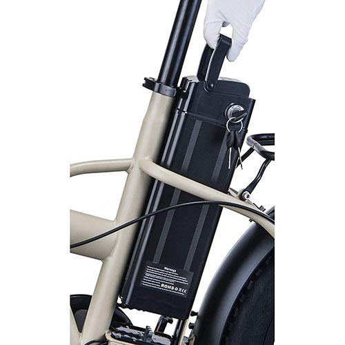 e-bike nilox x8 con batteria estraibile