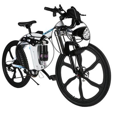 ammortizzatori mountain bike elettrica ancheer 26