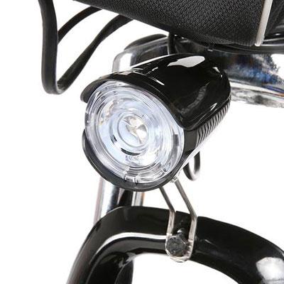 luci anteriori a led mountain bike elettrica ancheer 26