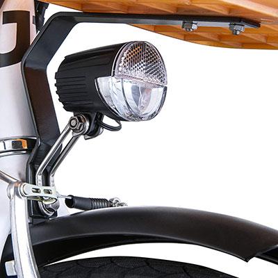 luci e-bike pieghevole nilox j1