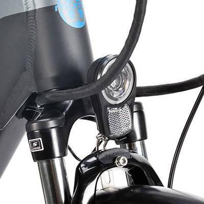luci a led bici elettrica Roma bikes bike 28.2