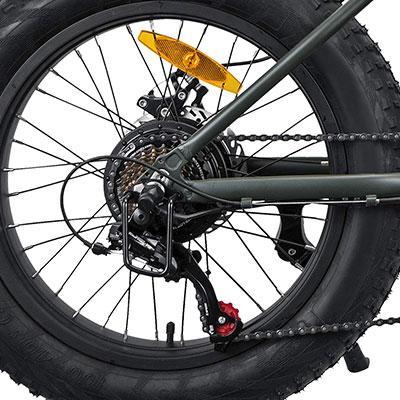 cambio shimano bici elettrica nilox e-bike j3
