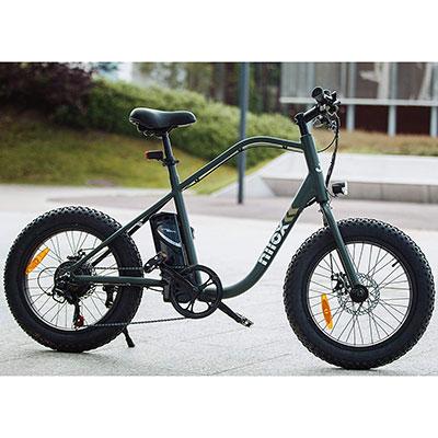 bici elettrica nilox j3 colore verde camu militare
