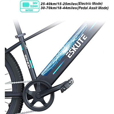 batteria ESKUTE Bici Elettrica MTB Elettrica 27,5 Voyager