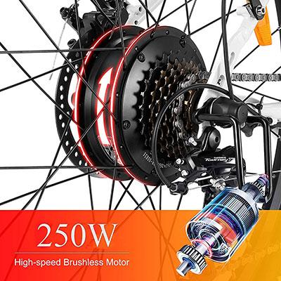 motore bicicletta elettrica Vivi C26 Winice