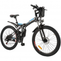 "Recensione mountain bike elettrica pieghevole Ancheer 26"""