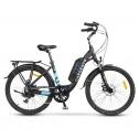Bici elettrica Argento Omega 26″