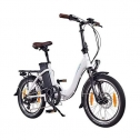 Bici elettrica pieghevole Ncm Paris plus